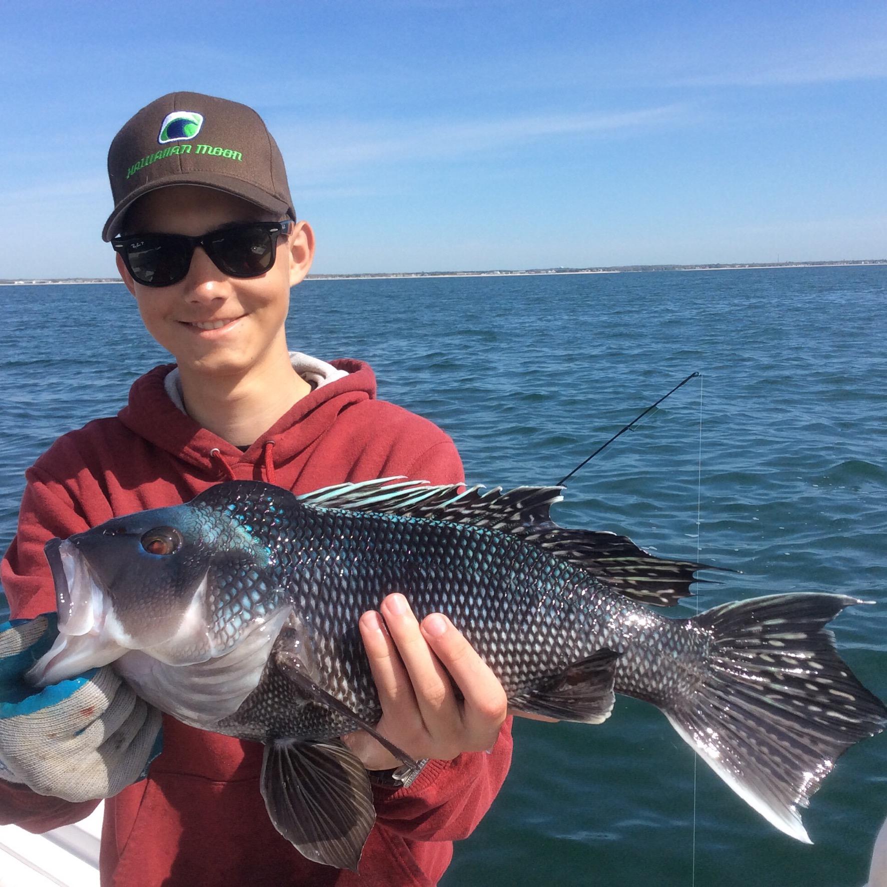 Black Seabass Season Is Open!
